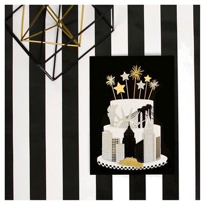 Papyrus Taylor Swift New York Cake, Buff Beige