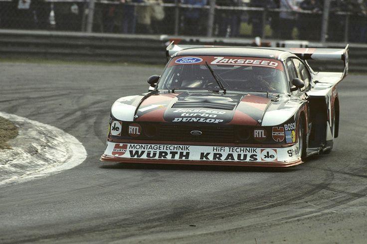 """The """"Super Capri"""" from 1980, with the Klaus Ludwig Porsche Armada in the D … – Renntourenwagen in Deutschland"""