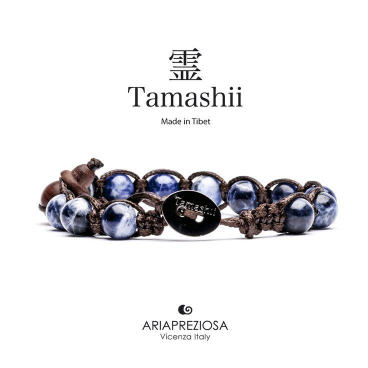 Tamashii - Bracciale Tradizionale Tibetano Sodalite
