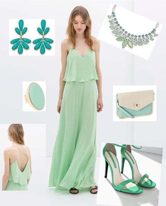 """Look """"Verde Mint"""", un look fresco, divertido y juvenil para este verano 2014!"""