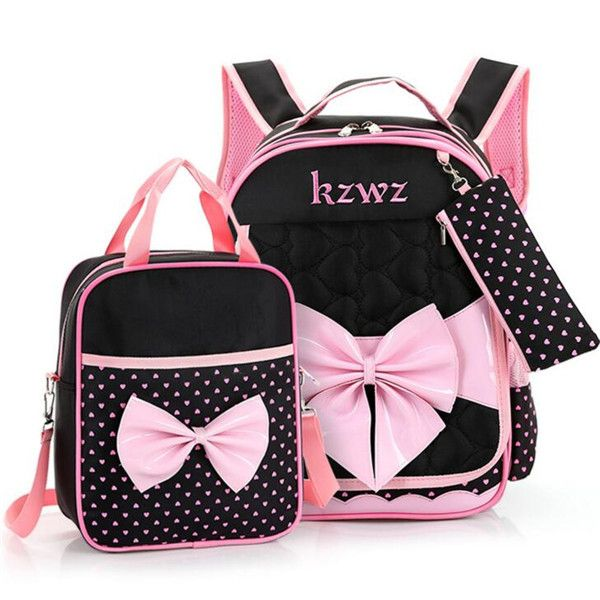 High quality Mochilas Schoolbags 2016 Children School Bags For Girls  waterproof nylon bow Backpack Kid Bag Girl Schoolbook Bag a970cec196
