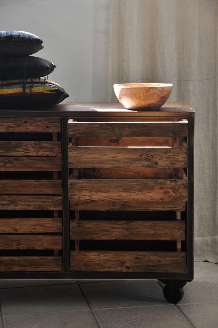 Los muebles reciclados son una excelente opción para agregarle personalidad a un ambiente.