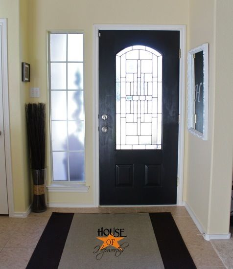 26 best images about painted front door on pinterest aqua front doors blue doors and for Best black paint for interior doors