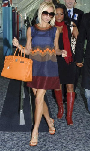 This Hermes Birkin bag is very similar to the Kelly Bag and shows how bags named after and owned by celebrities are still popular today