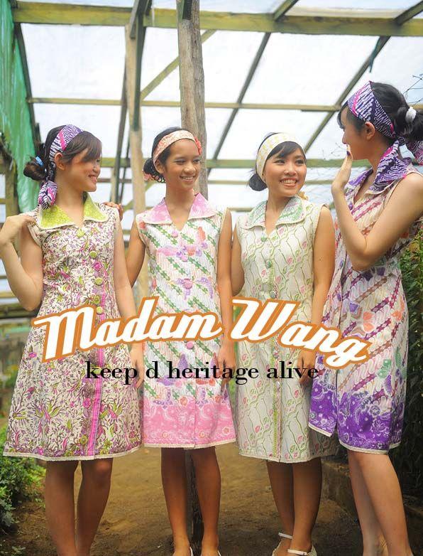 batik colorful dress