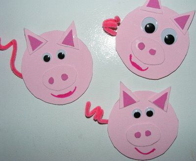 Image from for Farm animal crafts for preschool