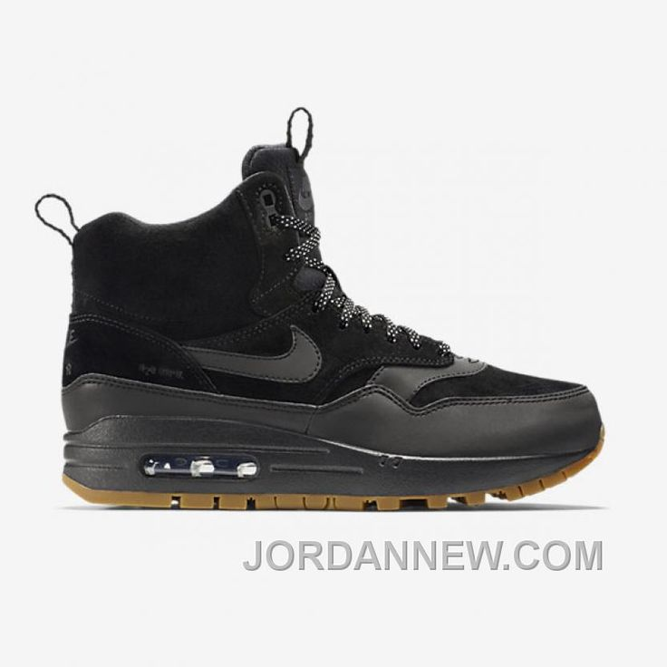 wholesale dealer f3131 d5144 ... Max 1 Mid Sneakerboot Reflect Black Black-Bright Crimson  httpwww.jordannew.comwomens-nike-air- ...
