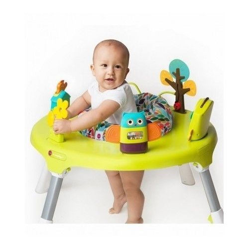 Charmant Convertible Activity Center 2 In 1 Play Baby Walker Table Infant Toddler  Bouncer