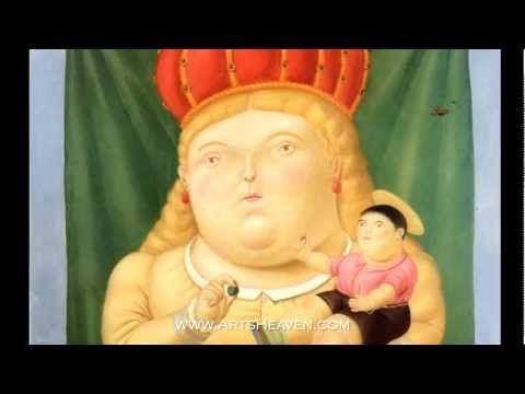 Famous Fernando Botero Paintings