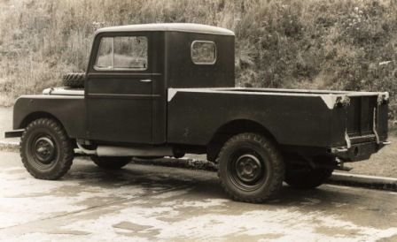 Early Landrover