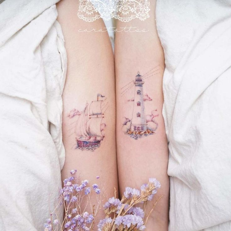 50 Friendship Tattoos For You And Your Bestie  – Tattoos – #Bestie #Friendship #Tattoos