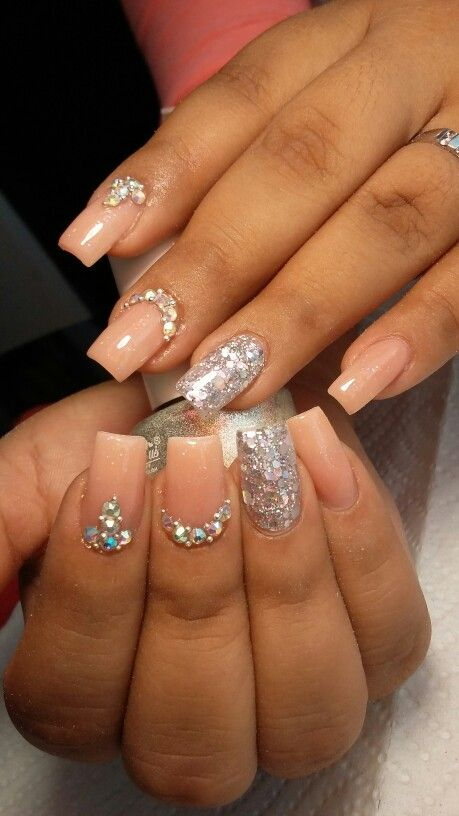 Uñas perlita nails fb