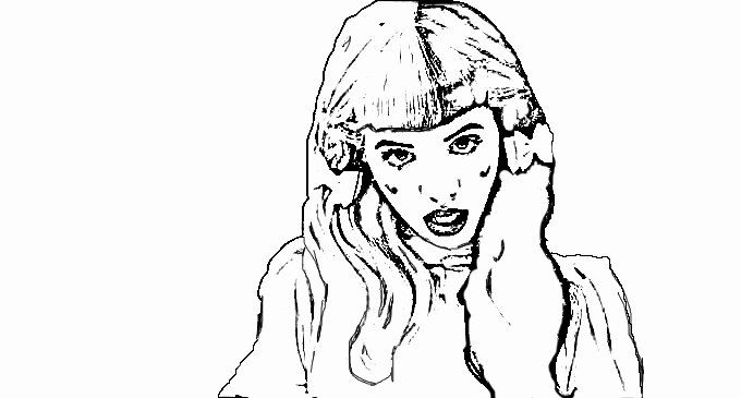 32 Melanie Martinez Coloring Page in 2020 | Melanie ...