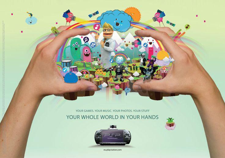 PSP's ad.