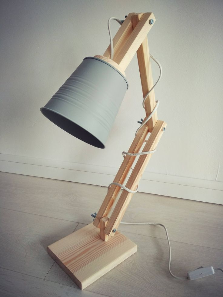 Excited to share the latest addition to my #etsy shop: Scandinavian wooden desk lamp pine wood grey metal shade http://etsy.me/2BEBQSZ #housewares #lighting #gray #entryway #contemporary #wood #wooden #lamp #scandinavian #etsyshop #skandynawski #diy #homemade #loft #home
