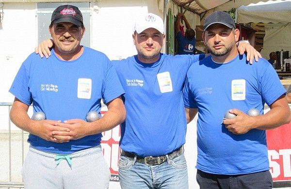 7ème National à pétanque de Châtelaillon Plage, les vainqueurs 2016