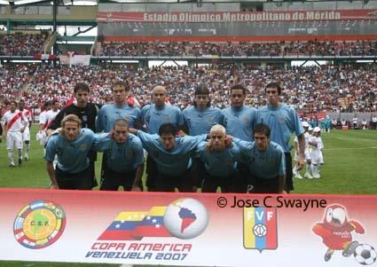 Image result for uruguay vs brazil 2007