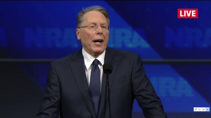 Wayne LaPierre! Exceptional Speech! A Must Watch!