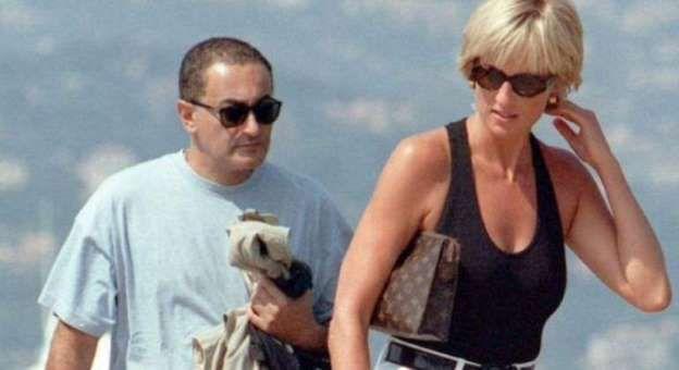 Lady Di y Dodi Al Fayed: cómo se fotografió el beso de los cuatro millones de libras