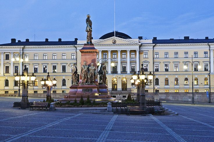 Aleksanteri II ja Valtioneuvosto > Senaatintori, Helsinki FI