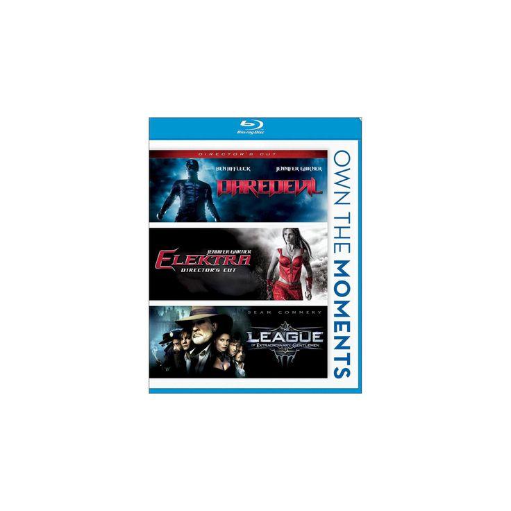 Daredevil/Elektra/The League of Extraordinary Gentlemen [Blu-ray]