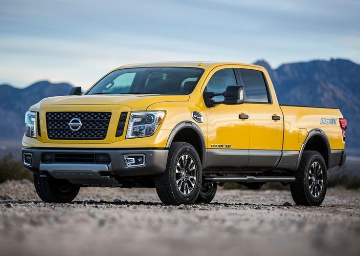 Get Your Stuffs Picked With 2016 Nissan Titan XD