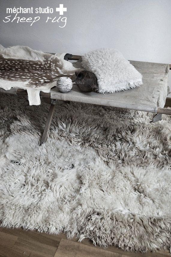Grey Sheepskins.