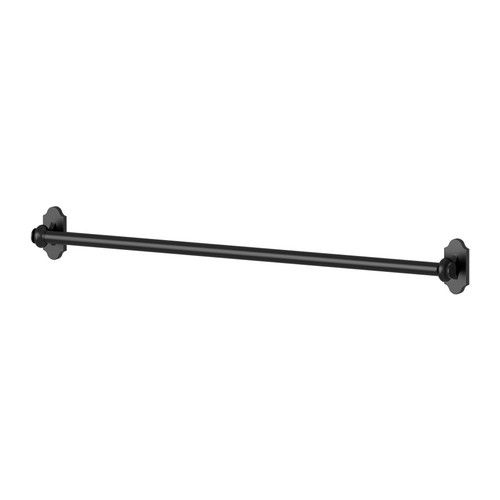 Hooks can be attached to this simple rail, which you can use to organize just about anything. $9; ikea.com   - HouseBeautiful.com