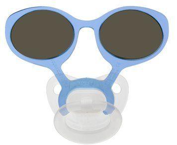 Schnuller Sonnenbrille Größe S Blau von Briloro auf DaWanda.com
