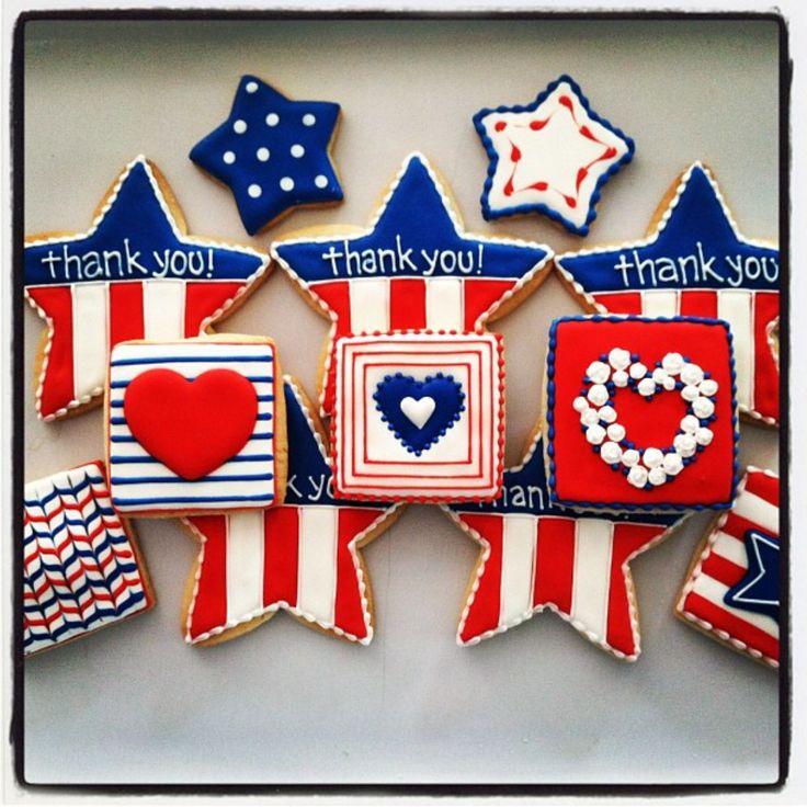 Veterans Day cookies