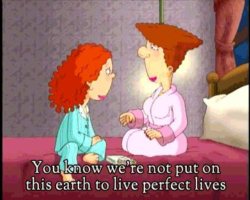 """Mistakes are a part of life.   Community Post: 15 Life Lessons Learned From """"As Told By Ginger"""""""
