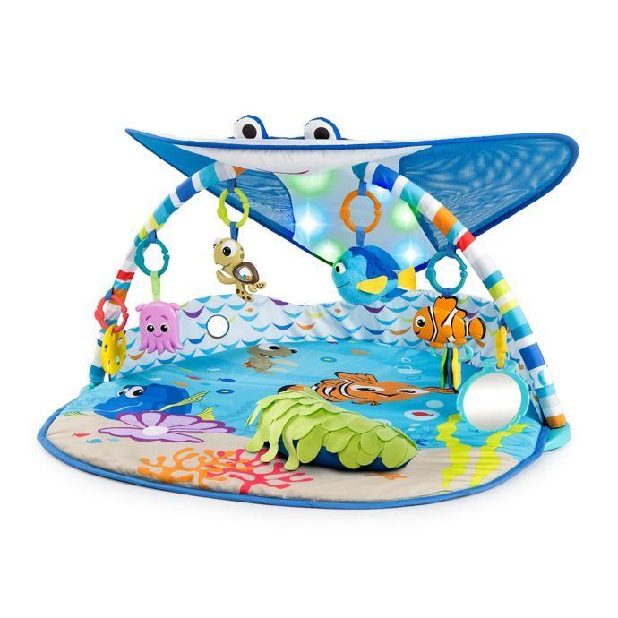 Disney Baby Mr Ray Ocean Lights Music Gym Finding Nemo Baby