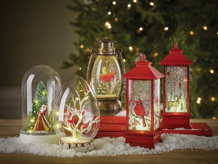 LED Shimmer Domes | Christmas Home Decor Accessories