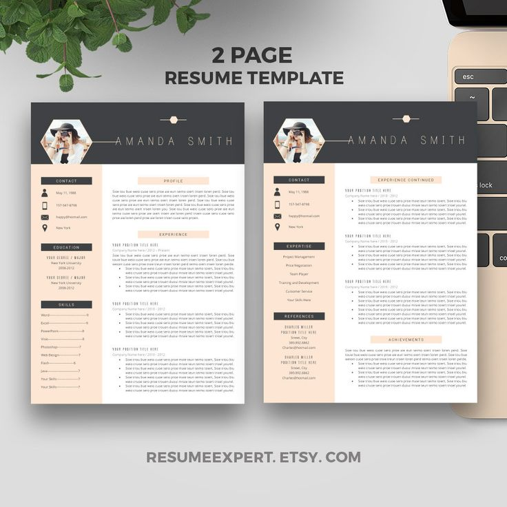 Best 25+ Professional resume template ideas on Pinterest - one page resumes