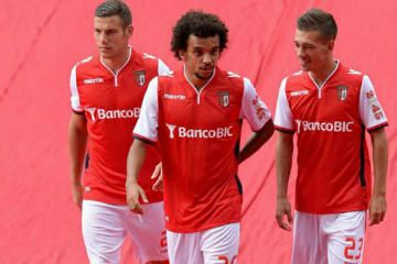 SC Braga 2014/15 Macron Home, Away and Third Kits