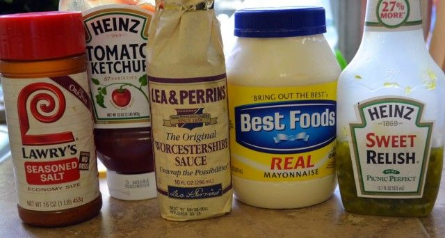 Best burger sauce: 3/4 cup of mayo, 1/4 cup ketchup, 1/4 cup relish 2 tablespoons worcestershire and seasoned salt.