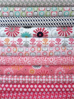Bee In My Bonnet, Gracie Girl, Pink in FAT QUARTERS 11 Total #rileyblakedesigns #graciegirl #loriholt