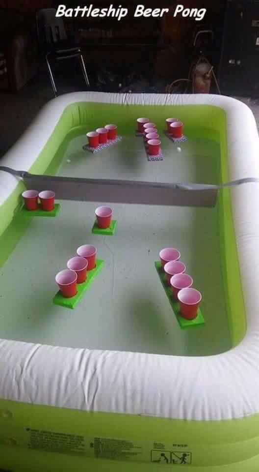 Floating battle shots