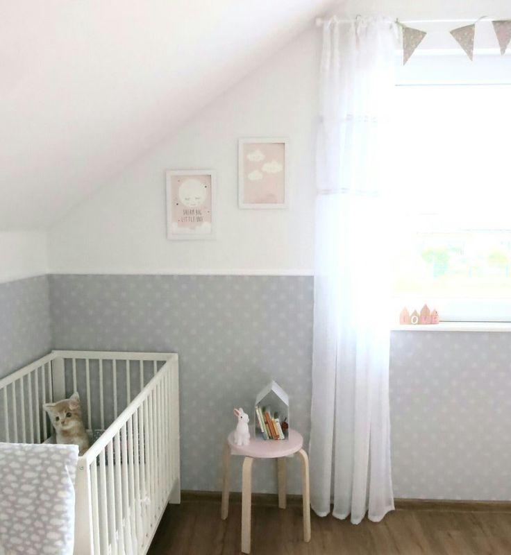 Die besten 25+ Kinderzimmer tapete Ideen auf Pinterest Zimmer - wandgestaltung dachschrge
