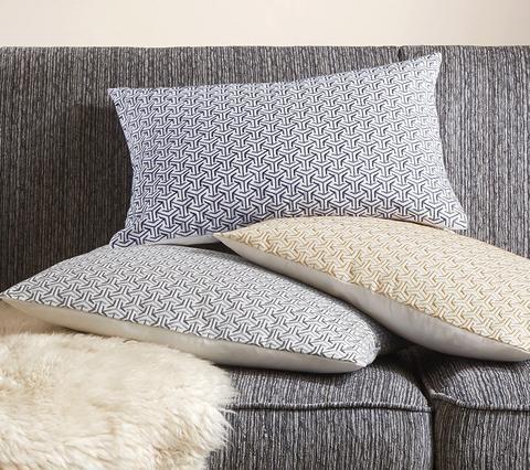 Cape Indigo Blue Embroidered Pillow