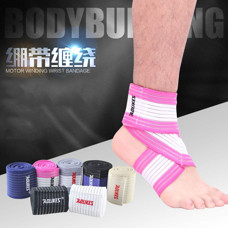 Ankle Bandage Sports Kinesiology Elastic Tape Compression Ankle Support Pads Basketball Climbing Guard Sport Accessories