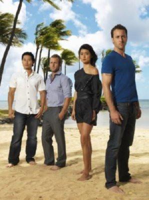 Hawaii 5-0 Cast Poster Standup 4inx6in