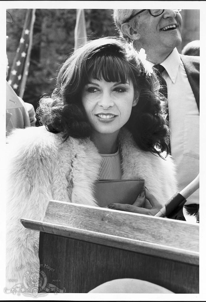 Talia Shire (/ˈtæliːə ˈʃaɪər/; born April 25, 1946) is an American actress most known for her roles as Connie Corleone in The Godfather films and Adrian Balboa in the Rocky series.
