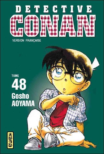 """Détective Conan, T48"" manga de Gosho Aoyama"