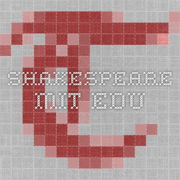 shakespeare.mit.edu  A MIdsummer Night's Dream full script
