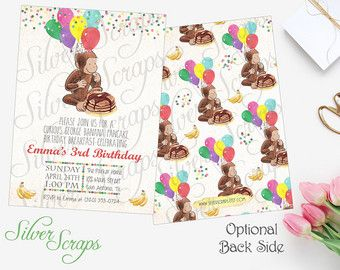 Watercolor Curious George and Confetti Custom by silverscraps