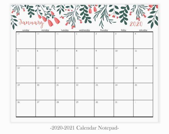 Magnetic Calendar For Fridge Desk Calendar 2020 2020 Fridge
