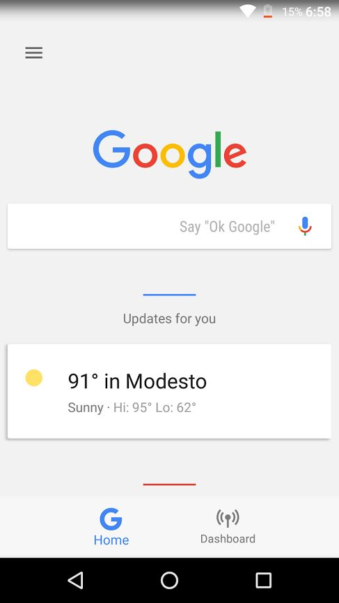 Google Now Gets A Dashboard In The Nexus Launcher | Digital Trends