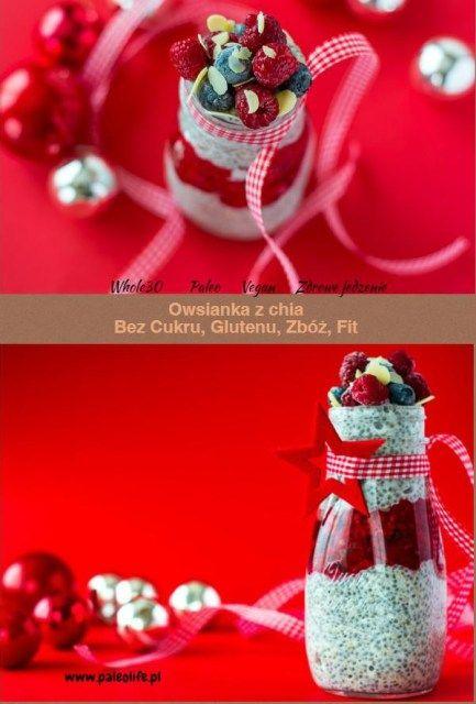 Owsianka paleo z chia, quinoa i malinami - paleolife