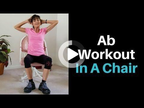 seated core exercises for seniors  senior fitness core